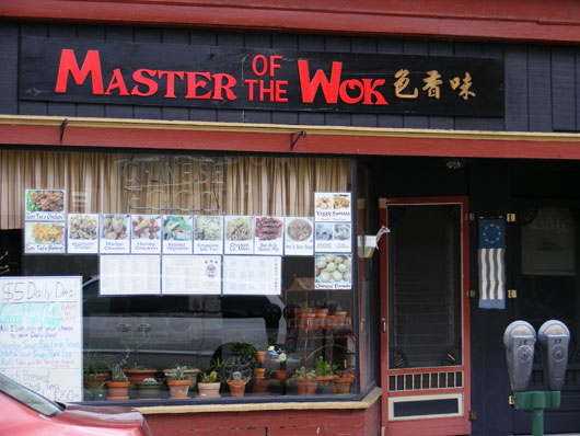Master of the Wok