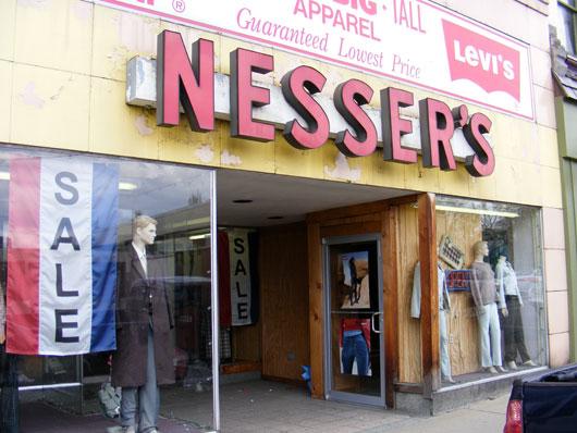 Nesser's Regular Big & Tall Clothing Store