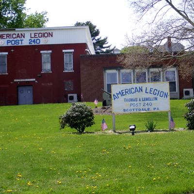American Legion Thomas A Lewellyn Post 240