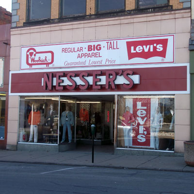 Nesser's Big & Tall Men's Clothing