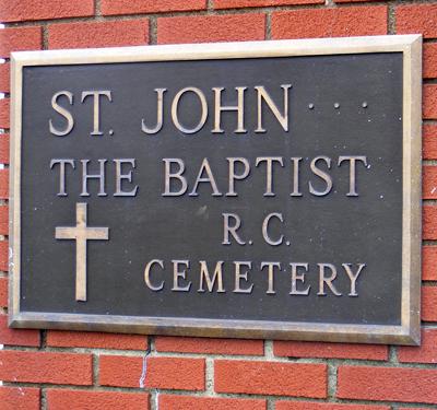 St. John the Baptist Roman Catholic Cemetery